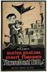 Steamboat Bill Jr poster
